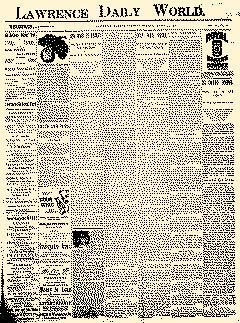 Lawrence Daily World, March 30, 1897, Page 1