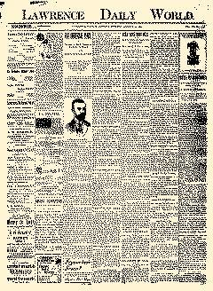 Lawrence Daily World, August 29, 1898, Page 1