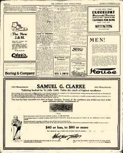 Lawrence Journal World, September 16, 1919, Page 6