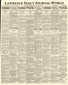 Lawrence Journal World, January 19, 1937, Page 1