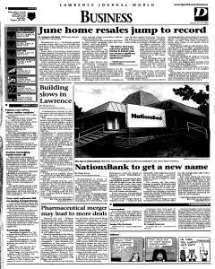 Lawrence Journal World, July 27, 1999, Page 25