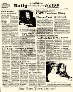 Middlesboro Daily News, November 27, 1974, Page 1