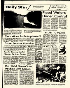 Hammond Daily Star, April 23, 1973, Page 1