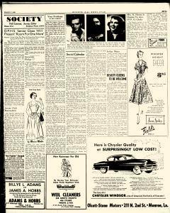 Monroe Morning World, March 01, 1953, Page 58