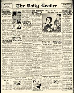 Ruston Daily Leader, December 07, 1931, Page 1