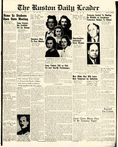 Ruston Daily Leader, March 14, 1941, Page 1