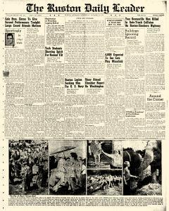 Ruston Daily Leader, October 15, 1941, Page 1