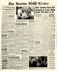 Ruston Daily Leader, May 12, 1953, Page 1