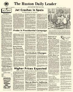 Ruston Daily Leader newspaper archives