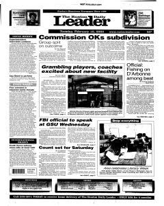 Ruston Daily Leader, February 18, 2003, Page 1