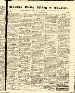 Bangor Daily Whig And Courier, August 19, 1837, Page 1
