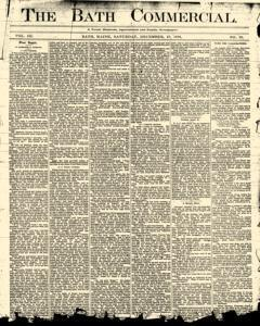 Bath Commercial, December 27, 1879, Page 1