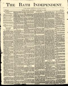 Bath Independent, January 10, 1880, Page 1