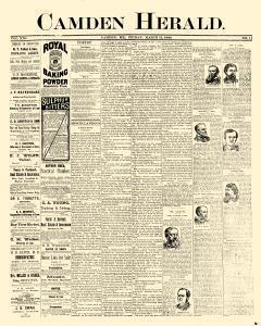 Camden Herald, March 15, 1889, Page 1