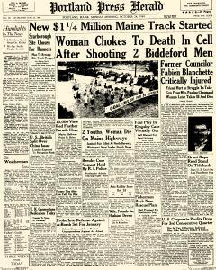 Portland Sunday Telegram And Sunday Press Herald, October 24, 1949, Page 1