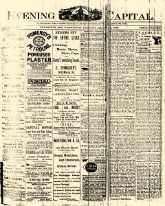 Annapolis Capital, March 16, 1887, Page 1