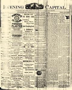 Annapolis Capital, March 17, 1887, Page 1