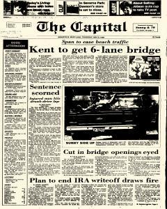 Annapolis Capital, May 08, 1986, Page 1