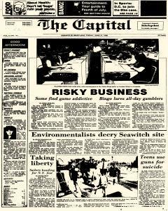 Annapolis Capital, June 27, 1986, Page 1