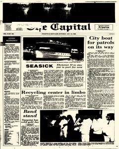 Annapolis Capital, July 19, 1986, Page 1