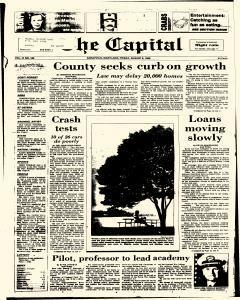 Annapolis Capital, August 08, 1986, Page 1