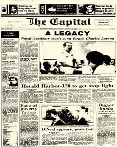 Annapolis Capital, August 16, 1986, Page 1