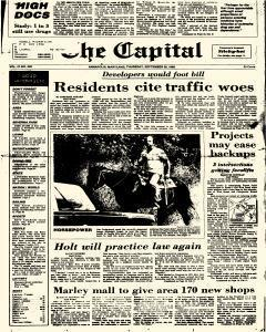Annapolis Capital, September 25, 1986, Page 1