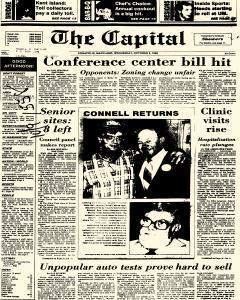 Annapolis Capital, October 08, 1986, Page 1