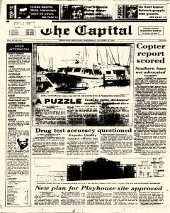 Annapolis Capital, October 15, 1986, Page 1
