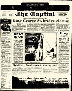 Annapolis Capital, October 25, 1986, Page 1