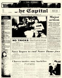 Annapolis Capital, November 01, 1986, Page 1