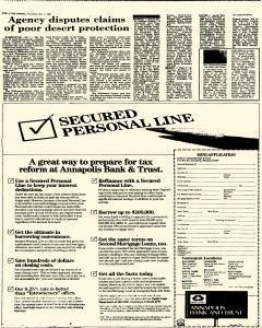 Annapolis Capital, December 04, 1986, Page 54