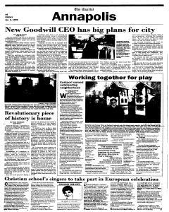 Annapolis Capital, January 06, 1995, Page 6
