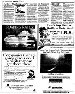 Annapolis Capital, January 29, 1995, Page 16