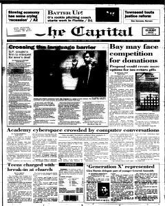 Annapolis Capital, February 21, 1995, Page 1