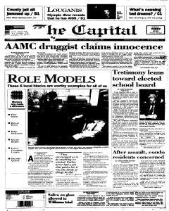 Annapolis Capital, February 23, 1995, Page 1
