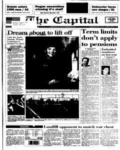 Annapolis Capital, February 24, 1995, Page 1