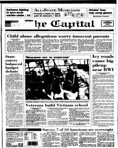 Annapolis Capital, February 27, 1995, Page 1