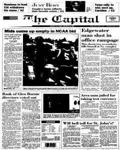 Annapolis Capital, March 11, 1995, Page 1