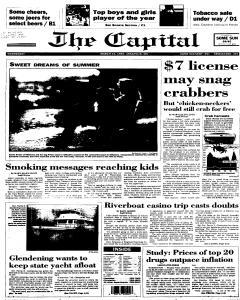 Annapolis Capital, March 15, 1995, Page 1