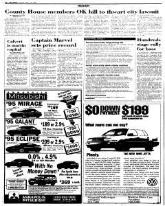 Annapolis Capital, March 25, 1995, Page 4