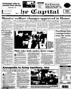 Annapolis Capital, March 25, 1995, Page 1