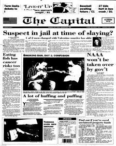 Annapolis Capital, March 29, 1995, Page 1