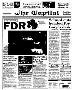 Annapolis Capital, April 12, 1995, Page 1