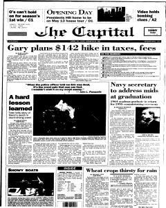 Annapolis Capital, April 29, 1995, Page 1
