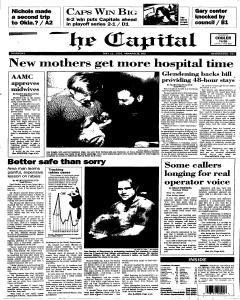 Annapolis Capital, May 11, 1995, Page 1