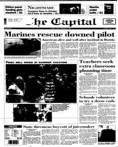 Annapolis Capital, June 08, 1995, Page 1