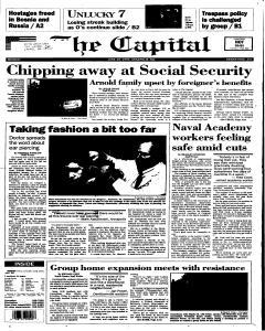 Annapolis Capital, June 19, 1995, Page 1
