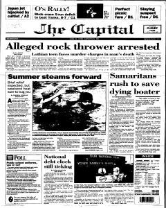 Annapolis Capital, June 21, 1995, Page 1