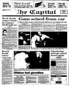 Annapolis Capital, June 23, 1995, Page 1